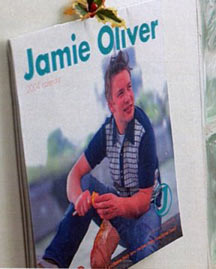 Jamie Olive, Boots Christmas Catalogue