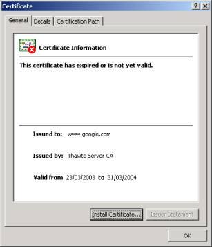 Google Certificate