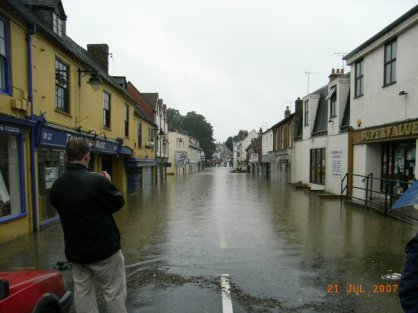 Port Street Floods