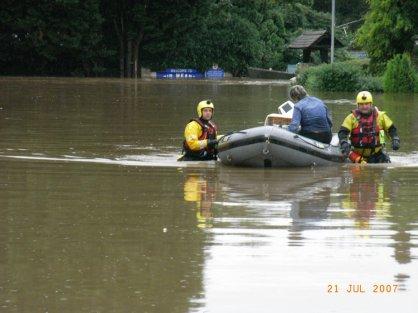 Evesham Floods Rescue